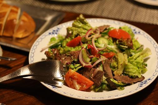ローストビーフのサラダ.JPG
